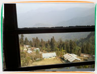 View of Neora Valley from one of the rooms