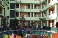 Prime Murti Resort - Pool and Inside view